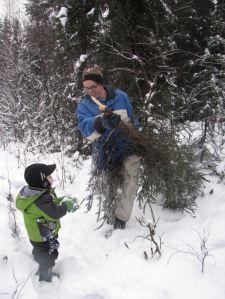 Zach in snow 2