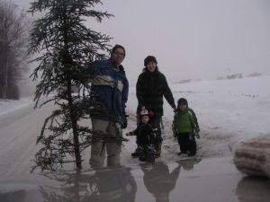 Zach in snow 3